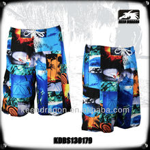 MEN'S FASHION PRINTING XXXL 100% POLYESTER SEXY CASUAL SHORTS