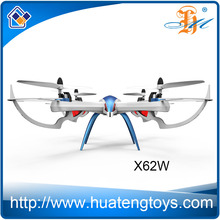 New Products X62W rc helicopter remote control drone with 0.3MP wifi camera
