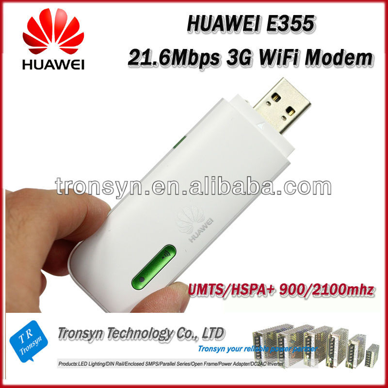 Brand New Original Unlock HSPA 21.6Mbps E355 3G WiFi Modem Router And WiFi Driver