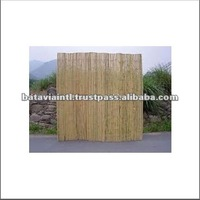 High Quality Backyard and Gate Bamboo Fence