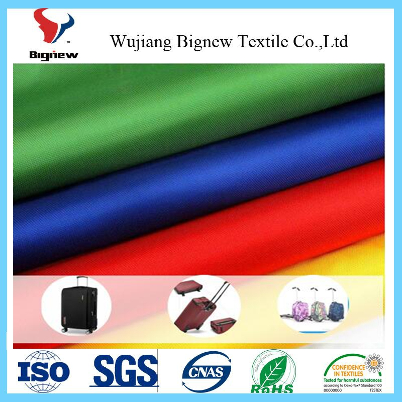 china fabric market wholesale oxford fabric with PVC pu coating for luggage