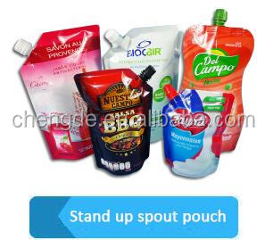 Factory Supply Attractive Price stand up liquid soap packaging