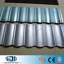 galvanized corrugated steel sheet 80 zinc with DX51D+Z Grade Mill Shandong stock
