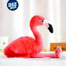 love birds stuffed plush bird toys pink flamingo plush