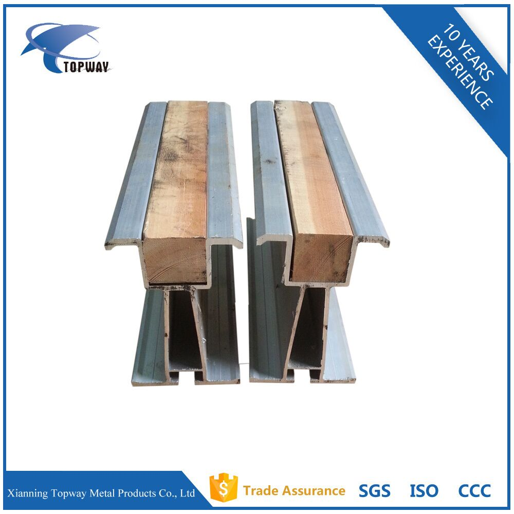 Scaffolding greater strength 6061-T6 Aluminium formwork beam for sale