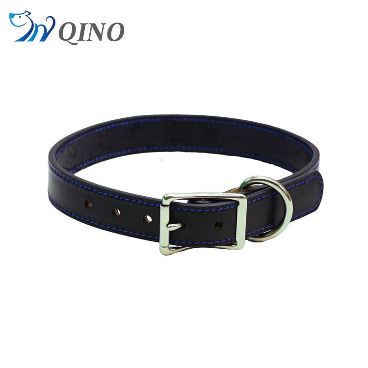 QN-A-5235 dog collar genuine leather