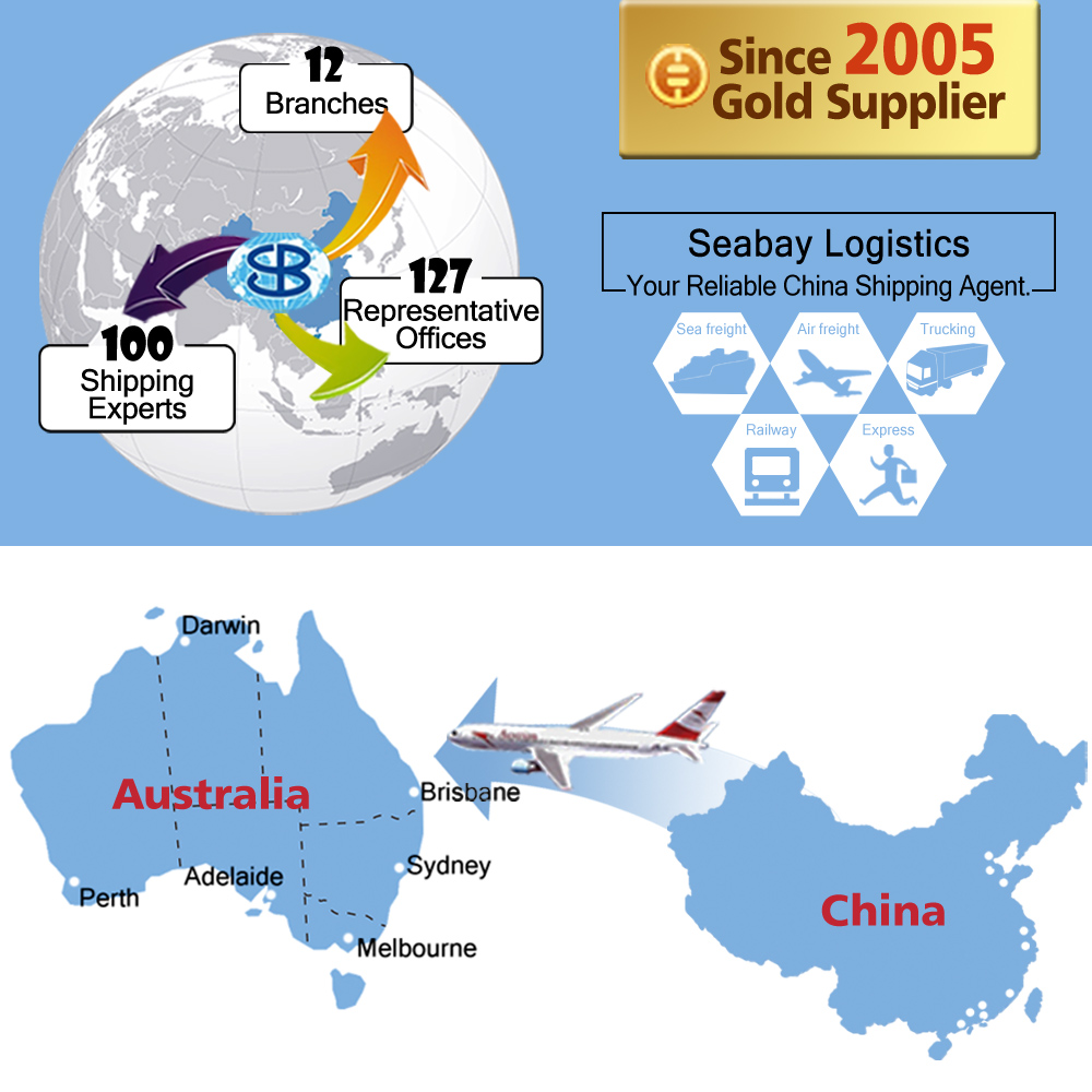 Quick air freight shipping from Shanghai to Brisbane,Australia