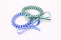 Telephone Wire Cord Elastic Head Tie Hair Band Or Can be Bracelet