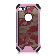 Armor Phone Case for iPhone 6 6plus 7 7plus Hybird Shockproof Cellphone Back Cover