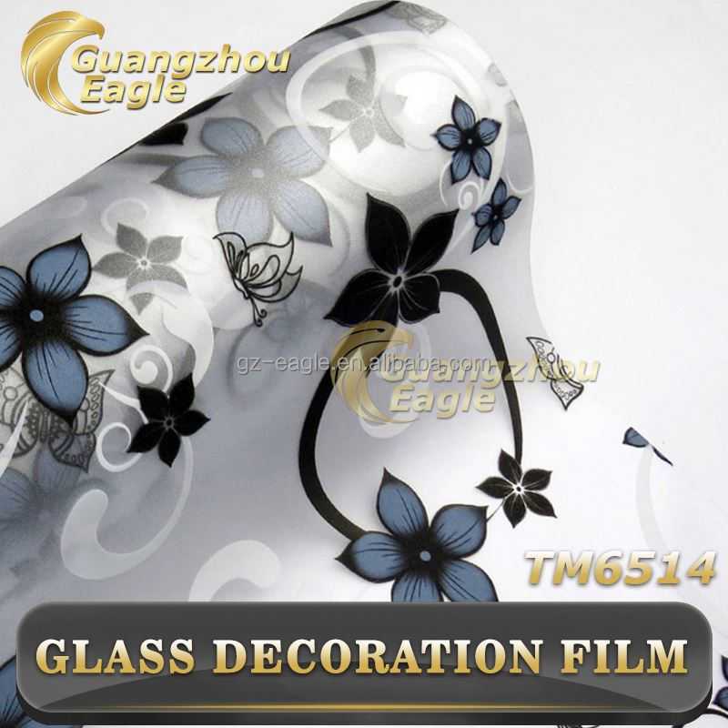 China OEM Decorative Printing Non-Glue 2D/3D Glass Protective Static Cling Window Film