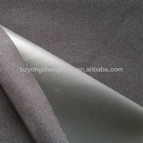 polyester waterproof woven fabric for bags with diamond pvc coated