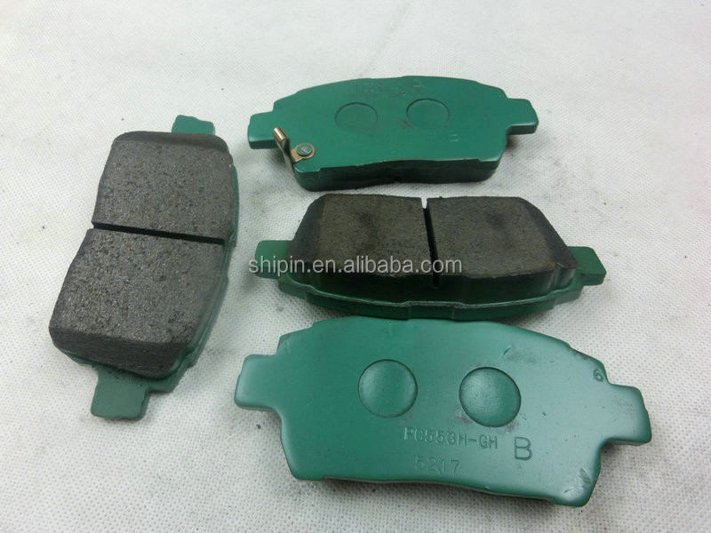 04465-52100 guangzhou auto chassis parts automotive brake pad manufacturers