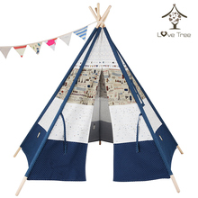 EN71 Certifications Factory Manufacturer Promotional wholesale Pink Camping Teepee Tents Waterproof