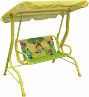 China supplier low price baby metal swing chair canopy