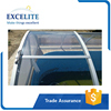 Retratable Swimming Solar Polycarbonate Pool Enclosures