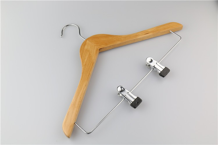 Creative Wood Scarf Hanger Wardrobe Pants Hanger Rack