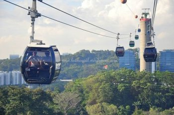 Cable Car cheap ticket Sentosa Singapore Underwater world Zoo Bird Park Safari