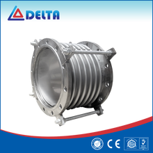 Corrugated Flanged Rubber / Metal Expansion Joint