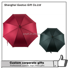 Anti-UV Windproof Parasol Sun/Rain Custom Logo Printed Folding Umbrella