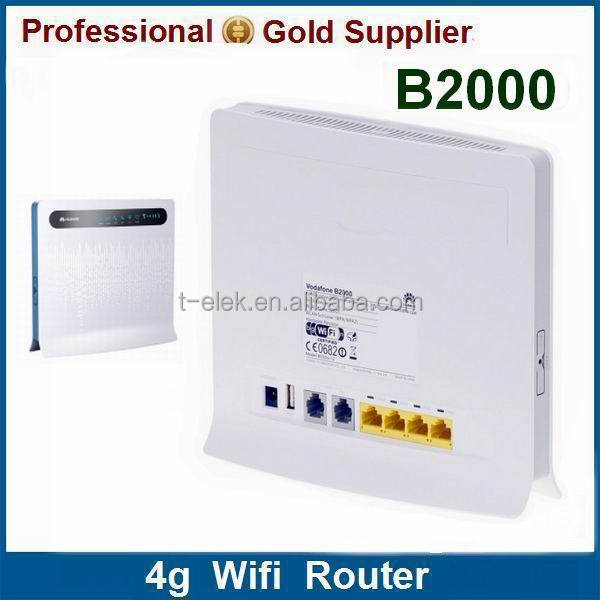 B2000 with 2 Antenna ports 4g huawei wireless sim router
