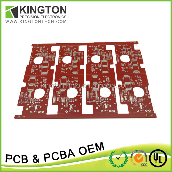 Custom-made printed circuit board manufacturer usb keyboard/solar charger pcb