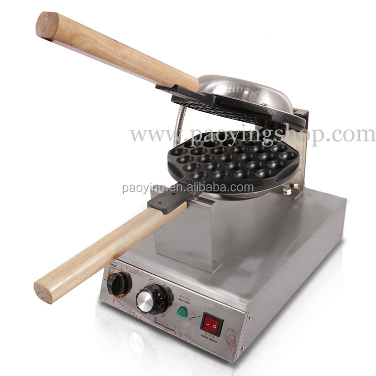 Commercial Use Non-stick 110v 220v Electric Hongkong Eggettes Egg Waffle Maker