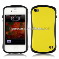 Shock-Absorbing Revolution 4th Generation Iface case for iphone 4 4s(PC+TPU Material)