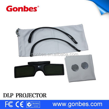 factory price wholesale less than 10USD shutter glasses 3d for DLP-link projector