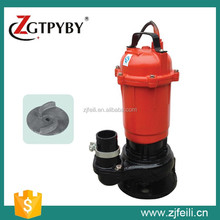 WQD type Stainless steel submersible sewage pump, dirty water pump submersible pump 1HP, 1.5HP, 2HP, 3HP