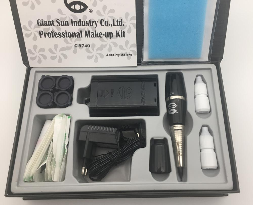 2017 New GIANT SUN Brand 9740 high quality semi permanent makeup tattoo machine