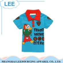 Wholesale 100% Cotton Blue Boys Pant Summer Shirt