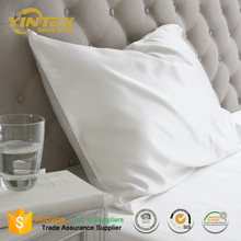 Luxury soft white pillowcase pure silk pillowcases wholesale