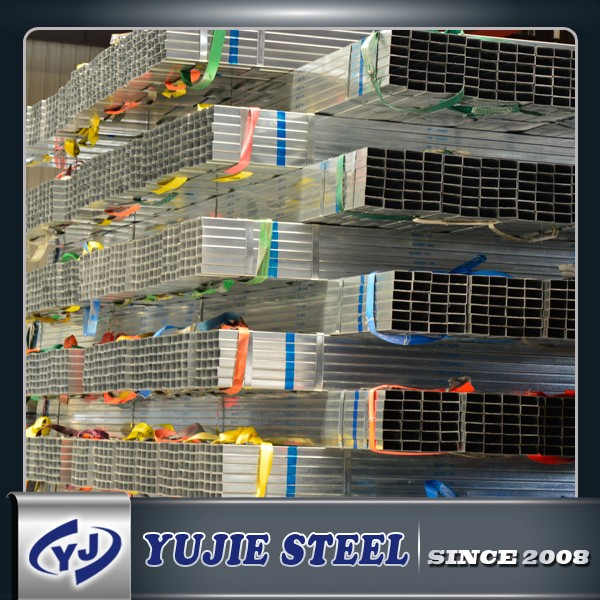 GP Pipe/Tube Square Hollow GI Steel Pipe For Bullding And Industry