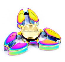 Fidget Spinner Toy Stress Reducer with Premium Bearing Crusader Spinner (Colorful)