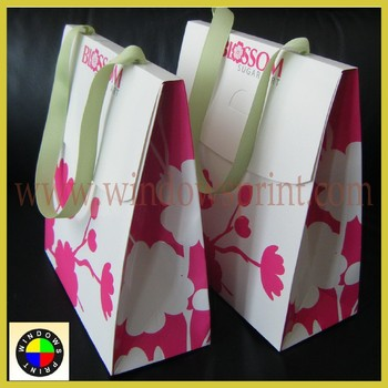 China factory dongguan coated paper bag wholesale