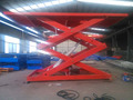 3ton 3m heavy duty scissor lift car