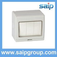Saip/Saipwell vertical 3 Gang light switch with CE and good qualitity