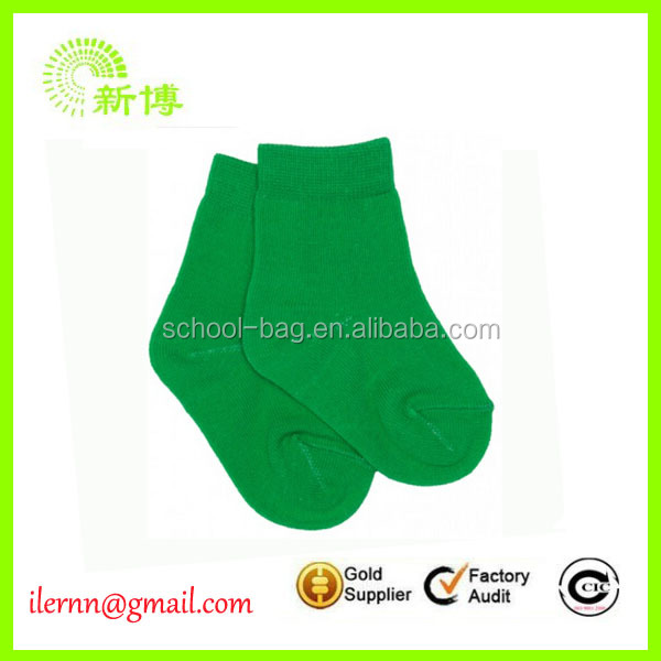 Best selling custom cheap red christmas socks with logo