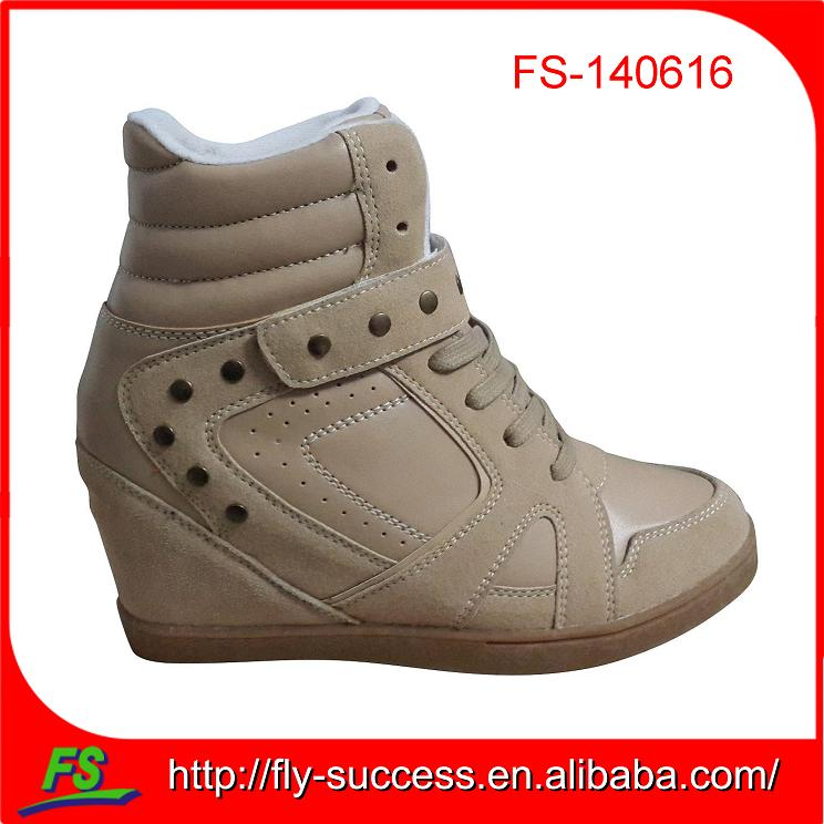 Women Comfort Casual Height Increasing Sneakers,high top sneaker