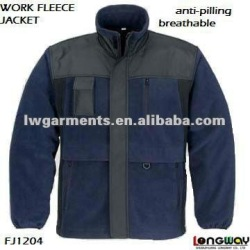 MULTIFUNCTIONA POCKET WORK POLAR FLEECE JACKET WITH MULIT- POCKETS