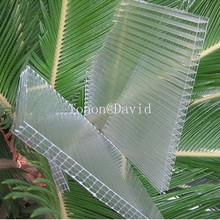 foshan tonon polycarbonate panel manufacturer uv-protection clear plastic sheets custom-made in China (TN0025)