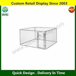 galvanized pet cages/houses for dog/dog cages metal YM5-597