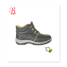 action safety shoe italy steel toe cap high heel work boots protective CE S1P SB SBP factory good quality
