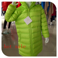 fashion and pretty kid down coat for girls