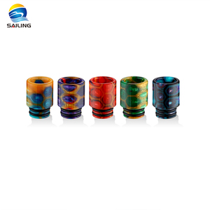 Japan And Korea Market Cheap Epoxy Resin Snake Pattern 510 Drip Tips
