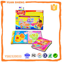 innovative new cloth play book,educational soft cloth book for baby
