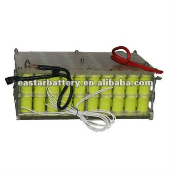 6000mah 144v Large capacity NIMH rechargeable battery pack