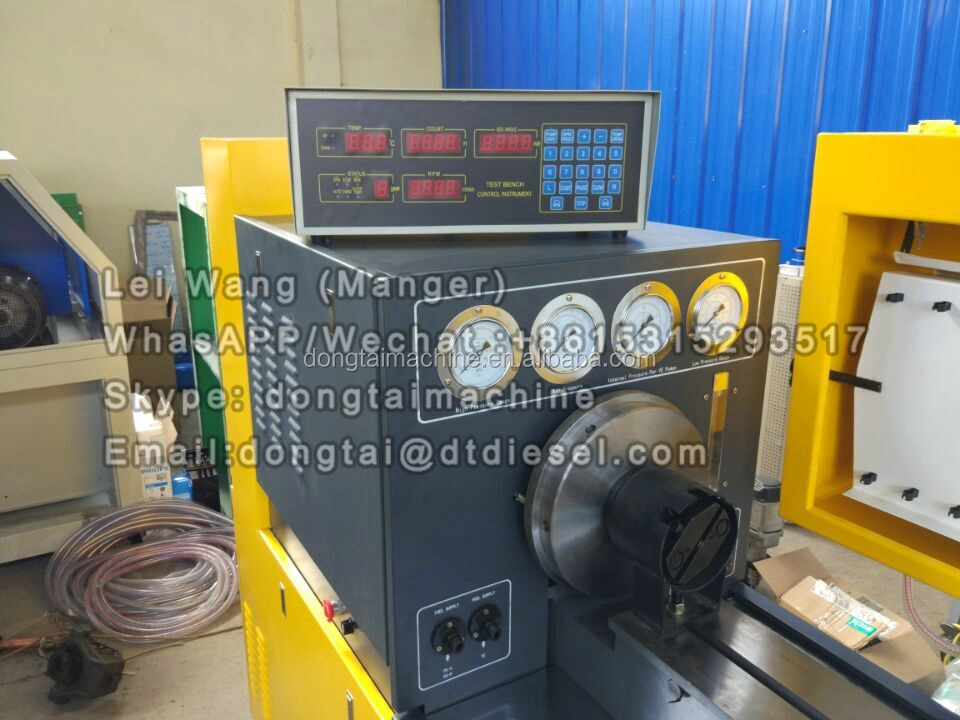 BD850 D diesel fuel injection pump test bench test stand for diesel car