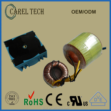 CE ROHS approved, with 2-year product warranty toroidal electronic transformer 230V 50Hz, electronic power transformer toroidal