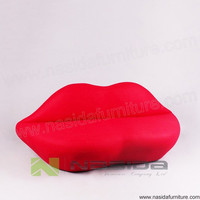 SF214 Factory direct sales engineering design Bocca Sofa Lips sofa Mouth Sofa in livingroom